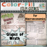 The Grapes of Wrath Colorfill Film Guide Doodle Notes