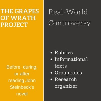 The Grapes of Wrath: Exploring Controversy Project (Informational texts)