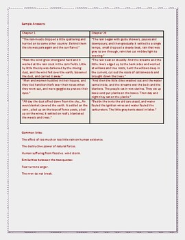 Complete Unit of Close Reading~Critical Thinking Work for The Grapes of Wrath