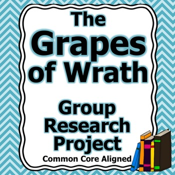 Grapes of Wrath Group Research Project