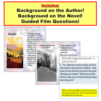The Grapes of Wrath PowerPoint