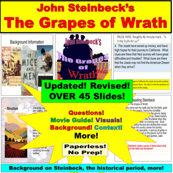 The Grapes of Wrath Background, Characters, Movie Guide