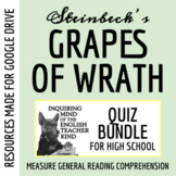 The Grapes of Wrath Quiz Bundle (Set of 10)