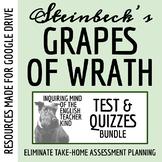 The Grapes of Wrath Quiz Bundle (Set of 10)