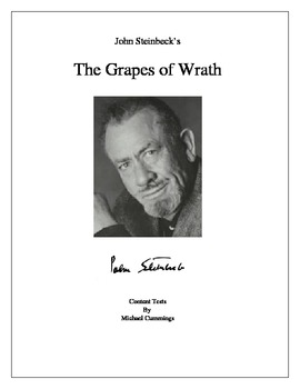 The Grapes of Wrath:Five Content Tests, Seven Class Tests