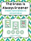 The Grass is Always Greener D'NEALIAN Style Alphabet Line