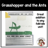 The Grasshopper and the Ants Writing Activity and Craft