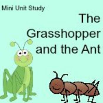 The Grasshopper and the Any Mini Unit Study