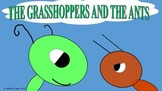 The Ants and the Grasshoppers-A play for Common  Core 3rd Grade