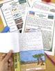 The Grassland Biome Reading Passages (3 levels), Vocabular