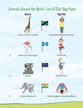 Yoga Feelings Book for Toddlers - The Grateful Giraffe