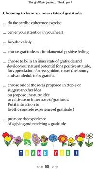 The Gratitude Journal - ebook