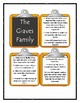Patricia Polacco THE GRAVES FAMILY - Discussion Cards