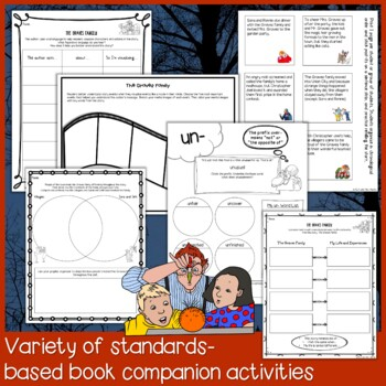 The Graves Family by Patricia Polacco Interactive Read Aloud Lesson Plan