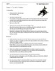 The Graveyard Book Chapter 4 Study Questions for Novel Unit