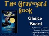 The Graveyard Book Choice Board Novel Study Activities Men