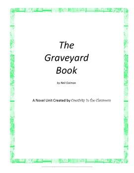 The Graveyard Book Novel Unit Plus Grammar