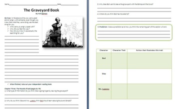 The Graveyard Book Unit Plan - Reading Guide and Chapter Questions