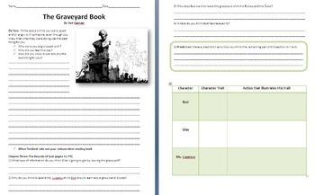 The Graveyard Book and Coraline Reading Guides - Neil Gaiman Bundle - Unit Plans