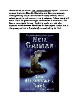 """The Graveyard Book"" by Neil Gaiman Novel Unit"