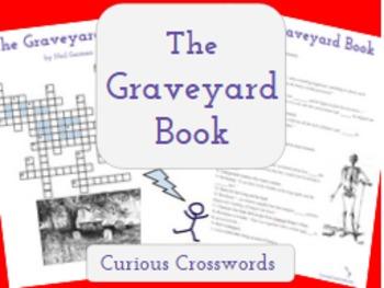 """""""The Graveyard Book"""" by Neil Gaiman Printable Worksheet- Crossword"""