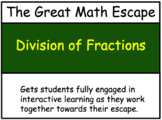 The Great Math Escape - Division of Fractions