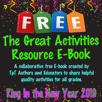 The Great Activities Resource E-Book - Jan 2019 - FREE
