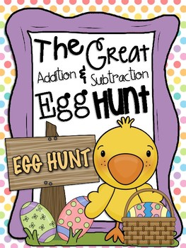 The Great Addition and Subtraction Egg Hunt