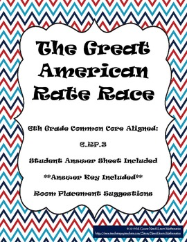 The Great American Rate Race