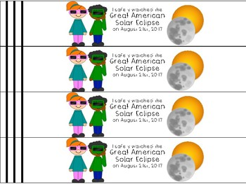 The Great American Solar Eclipse 2017 Bracelet FREEBIE