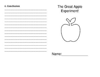 The Great Apple Experiment-Scientific Method