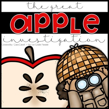 The Great Apple Investigation {Student Journal}