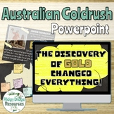 The Great Australian Gold Rush Informative Powerpoint