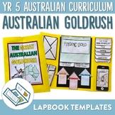 The Australian Gold Rush Lapbook Activities and Unit Plan