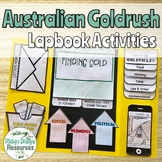 The Australian Gold Rush Lapbook Activities and Unit Plan