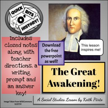 The Great Awakening!