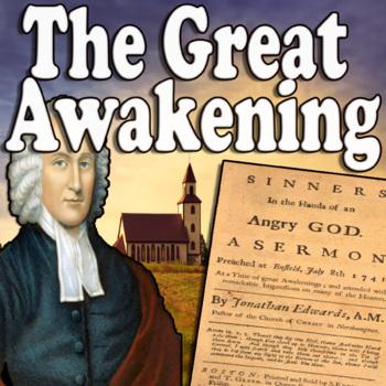 The Great Awakening Cloze Reading
