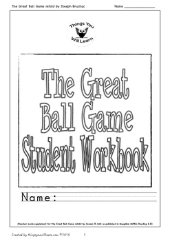 The Great Ball Game Student Workbook