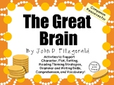 The Great Brain by John D. Fitzgerald:  A Complete Novel Study!