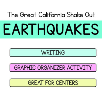 The Great California Shake Out - Earthquake - Maps for Thinking - Bundle