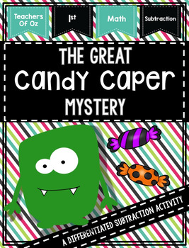 The Great Candy Caper Mystery - A Subtraction Activity