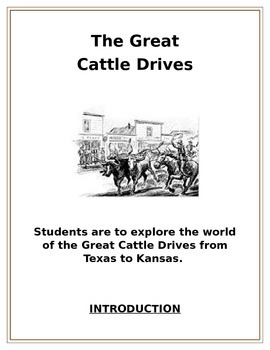 The Great Cattle Drive