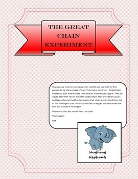The Great Chain Experiment