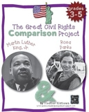 The Great Civil Rights Comparison Project - MLK and Rosa Parks