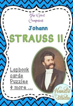 The Great Composers - Johann Strauss II lapbook