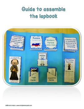 The Great Composers- Prokofiev lapbook