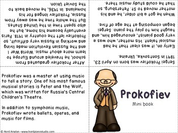 The Great Composers- biography research and teach project (set 3)