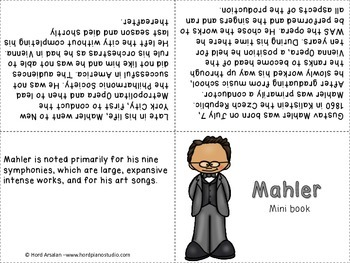 The Great Composers- biography research and teach project (set 4)