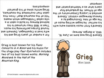 The Great Composers- biography research and teach project (set 7)