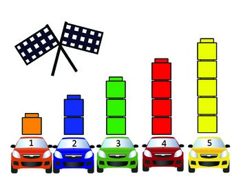 The Great Counting Race- Race Car Themed Counting and Number Recognition Games